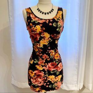 Tank top floral dress
